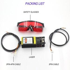Image 5 - Oxlasers gerçek 3W 5W 5500mW 445nm 450nm odaklanabilir mavi lazer modülü lazer gravür parçası DIY lazer kafası PWM solar şarj regülatörü ile ücretsiz kargo