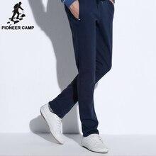 Pioneer camp gerade casual hosen männer neue mode männlichen hosen marke kleidung top qualität baumwolle bequeme hose 505105 mt
