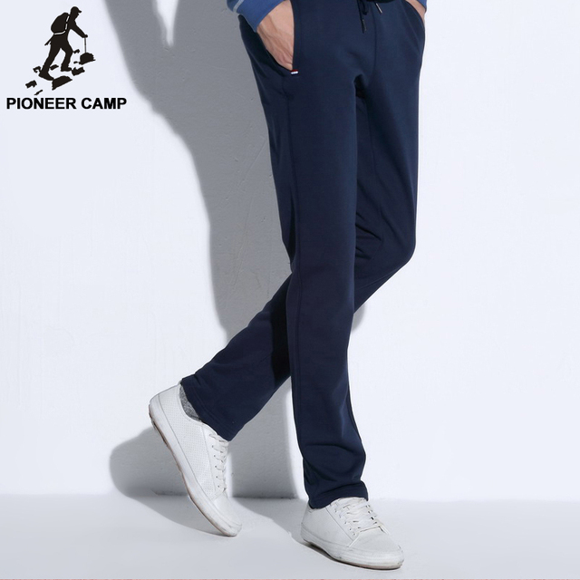 Pioneer Camp straight casual pants men new fashion male pants brand clothing top quality cotton comfortable trousers 505105M