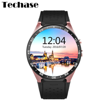 KW88 Reloj Inteligente Android SIM Smartwach 3G Wearable Devices Watch Men Smart Watch Heart Rate Monitor Watch Akilli Saatler