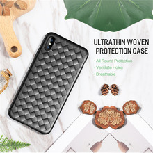ROCK BV Weaving Case for iPhone X/Xs, Xr, XsMax