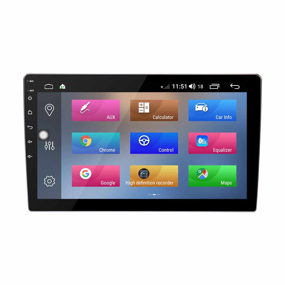 "Aotsr 9 ""Android 8,1 Octa Core 2 Din Universal doble auto Radio estéreo GPS Headunit de Audio de 360 cámara para Jetta Bora LaVida"