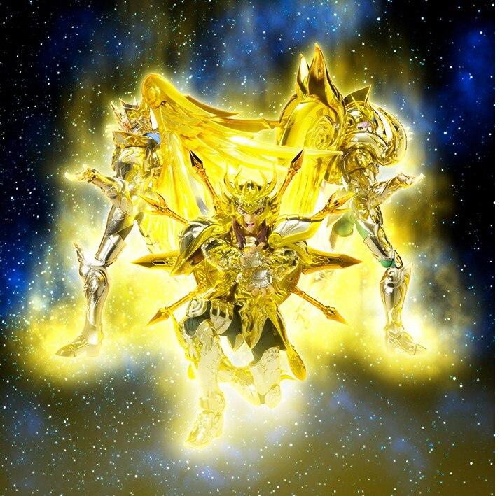 alma do ouro figura de ação liga libra dohko deus pano