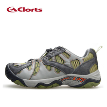 2016 Clorts Breathable Trekking Shoes Men Outdoor Hiking Shoes Climbing Mountaineering Outdoor Sport Aqua Water Shoes Zapatillas
