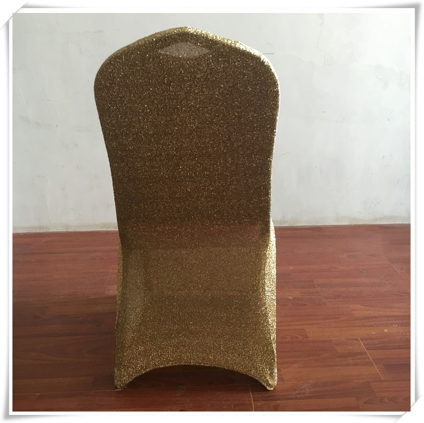 glitter chair cover sequin wedding lycra elastic chair clothes banquet home chair seat cover 100pcs/lot Free shipping