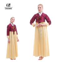 Coréenne Hanbok Traditionnel Coréen Danses Costumes Performance Robe Cosplay Costumes