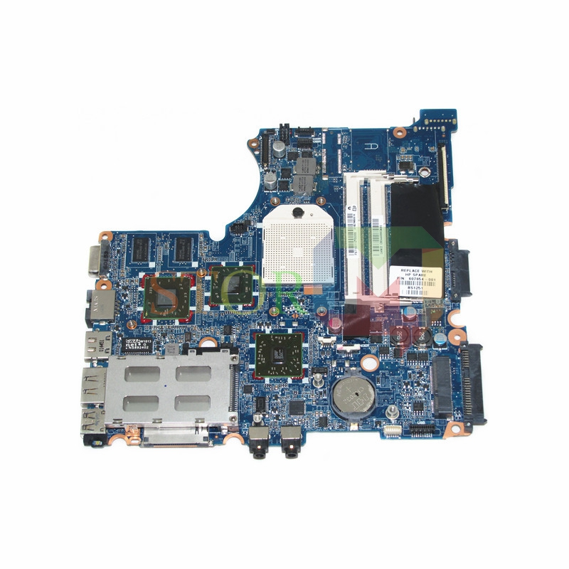 NOKOTION 607654-001 For HP Probook 4325s 4326s Laptop Motherboard Socket S1 HD 5470 DDR3 Free CPU nokotion 628489 001 laptop motherboard for hp compaq probook 4326s 4325s with ati mobility radeon hd 5430 ddr3 mainboard