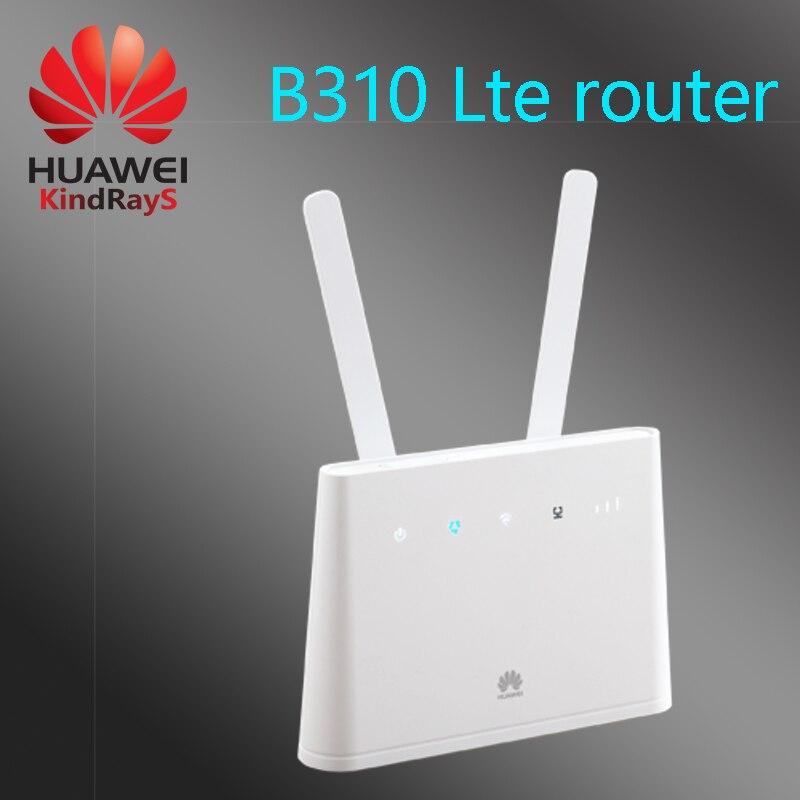 Débloqué huawei b310 3g 4g routeur rj45 rj11 3g 4g sans fil lte wi-fi hotspot 4g wifi 4g mifi lte routeur rj45 pk b315 b593 e5186