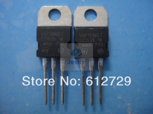 Электронные компоненты и материалы 10 ./vnp10n07