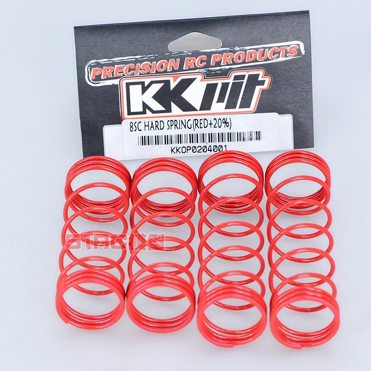 KKPIT HOBAO/OFNA 10SC/TT/8SC/H9 STAR/ST PRO/MT/SS/VS Optional Upgrade 20% Hardness Enhancer Shock Absorber Spring