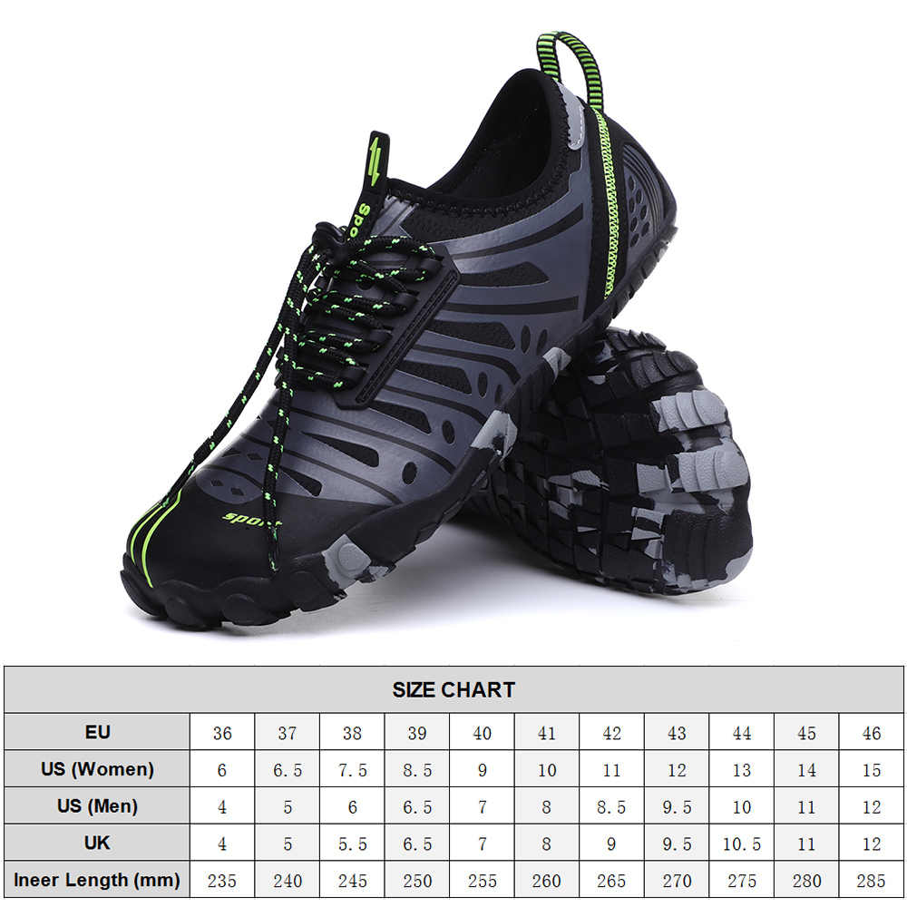 Water Shoes Quick Dry Lightweight River Trekking Exercise Athletic Sport Shoes