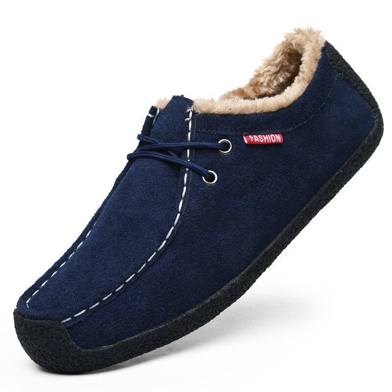Offre Sécurité Neige Spéciale Mode Hommes Sneakers De Peluche coffee Cheville Bottes Boot En 2018 bleu Chaudes Chaussures Nouveau Noir dxHnd6