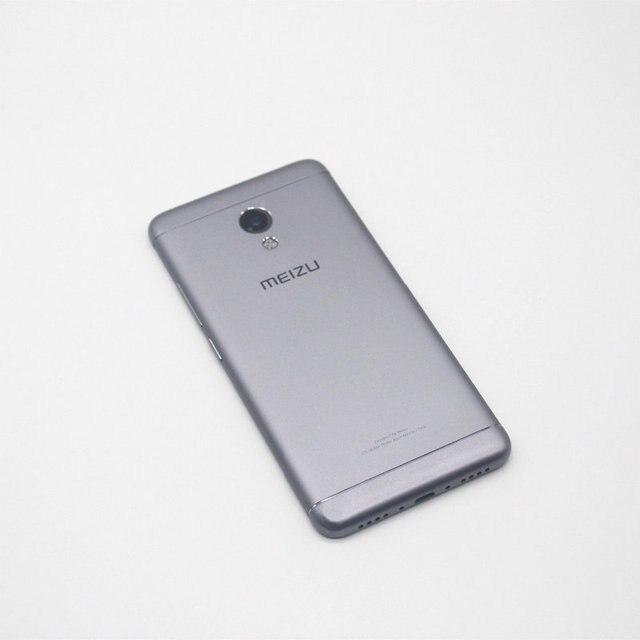 Для Meizu M3S Mini Задняя Крышка Батареи Чехол Для Meizu M3S Mini 5.0 Дюймов MT6750 Окта основные Сотовый Телефон С Объемом Мощности Боковой Кнопки