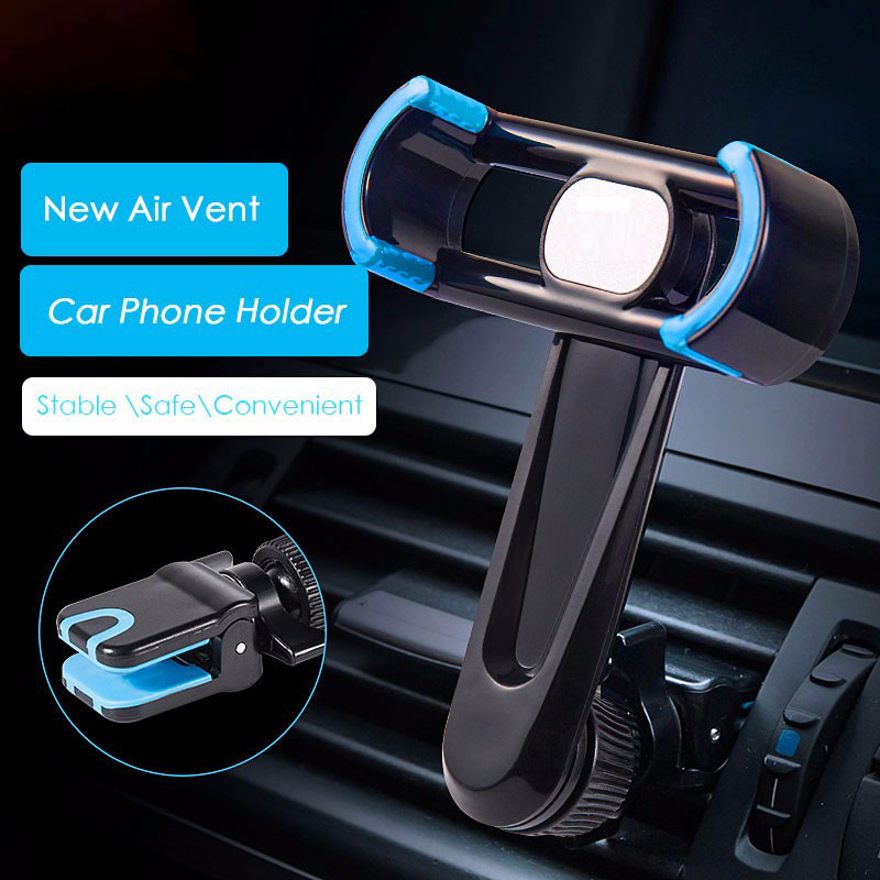 Car Phone Holder&stander for iPhone Samsung Note Xiaomi Air Vent Mount Mobile Phone Stand Cradle for Smartphone GPS Navigation