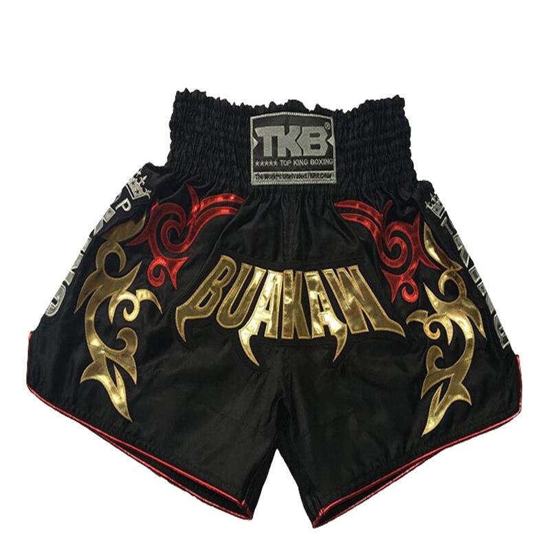 Muay thai shorts kick boxing shorts fight trunks mma combat sport pants цена