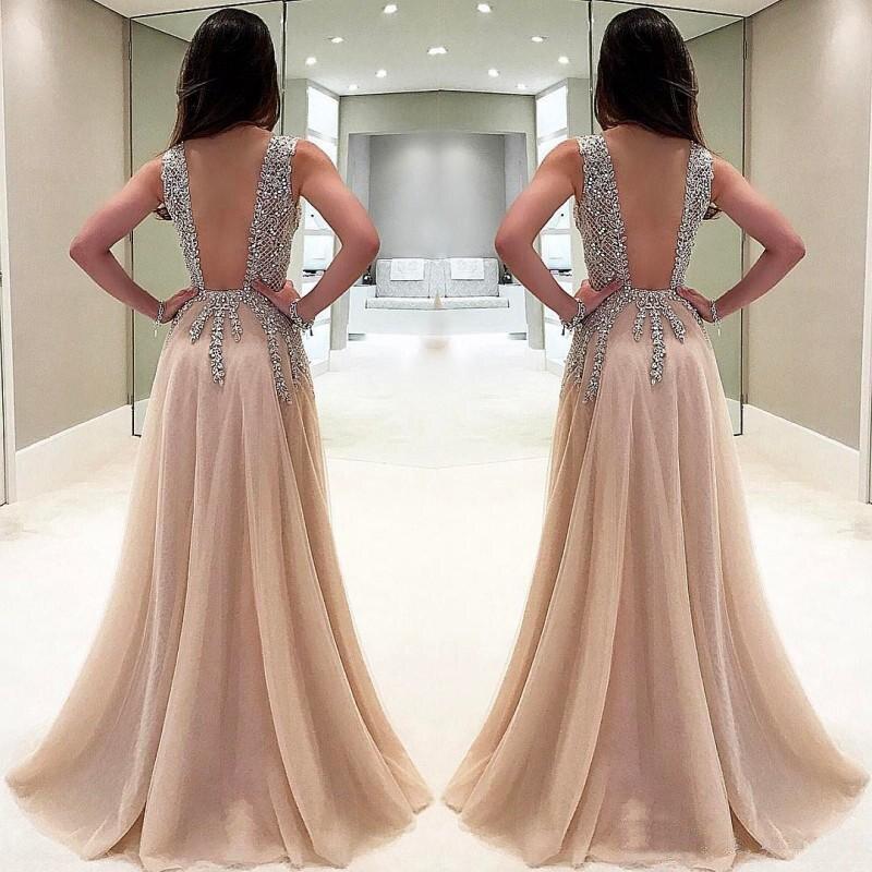 Vestidos de baile gala, novo estilo frisado,