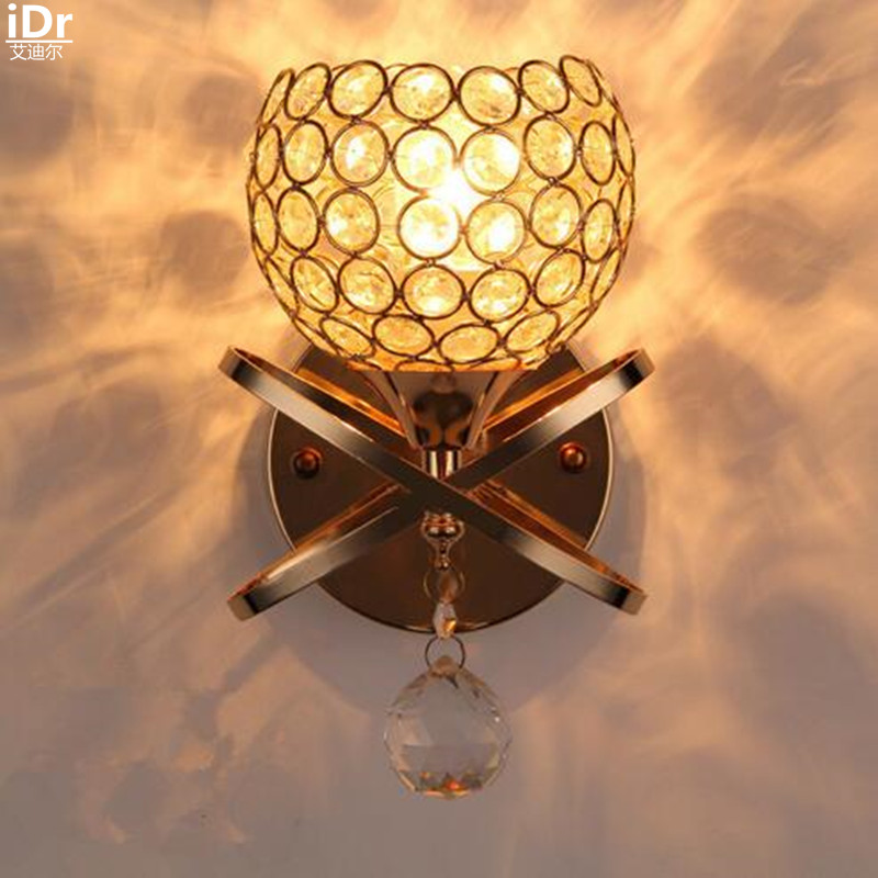 Gold a headlight lens in the front bedroom bedside hallway hallway living room warm and romantic Wall Lamps  OLU-0031 dhl new lepin 06039 1351pcs ninja samurai x desert cave chaos nya lloyd pythor building bricks blocks toys compatible 70596