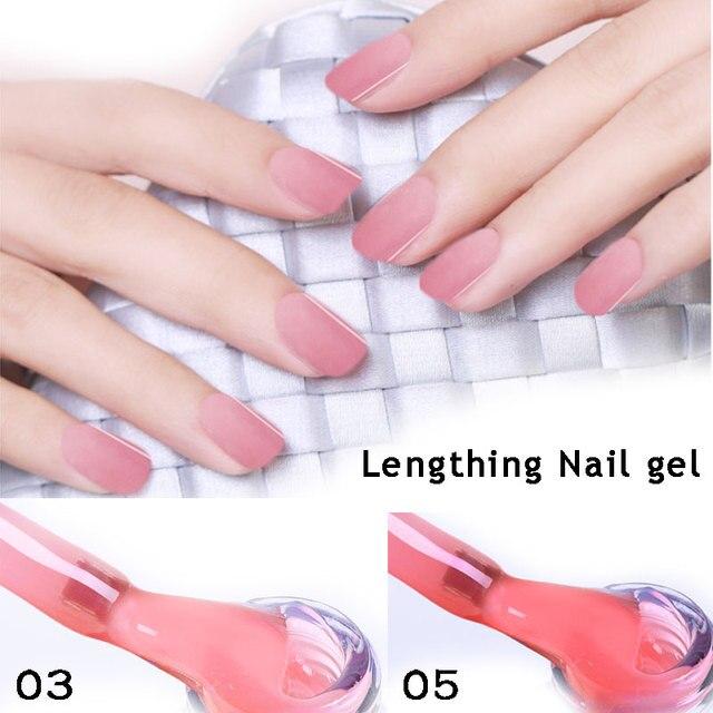 Lghzlink 3 Acrilato De Cor verniz Gel Unha polonês Para A Extensão Do Prego UV Construtor Gel Rosa Claro Camuflagem lacquer manicure