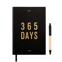 365 Days Agenda 2019 Planner Organizer Diary Notebook Dividers Weekly Monthly Personal Travel Journal Dokibook A5 Note Books+Pen
