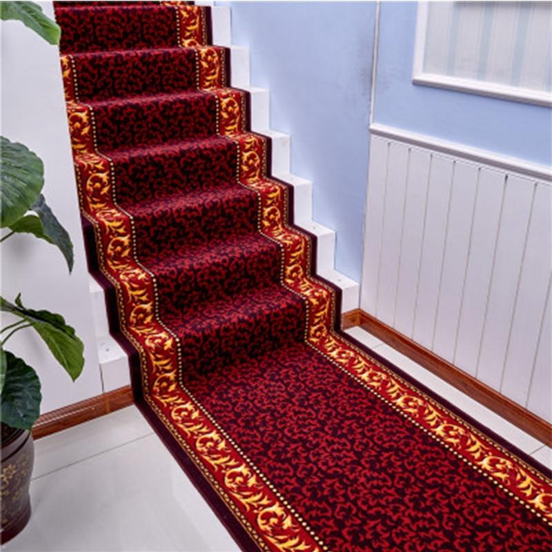 SunnyRain 1 Piece Stair Treads Carpet Sets Non Skid Stair Mats No