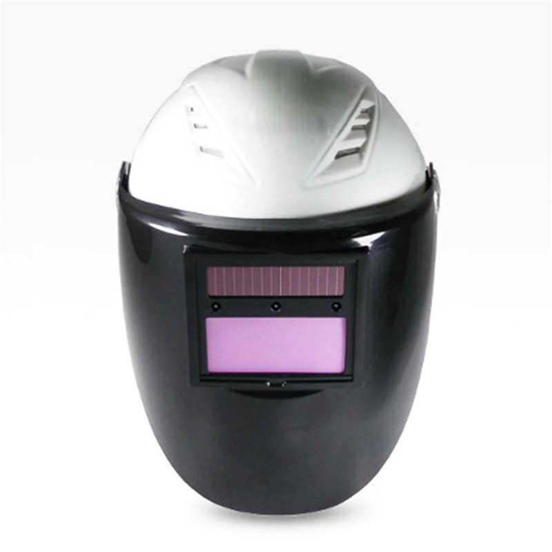 Автоматическая переменная свет маска Солнечный переменной светло-сварочные маски Tig защиты шлем гуманное и внимательным дизайн