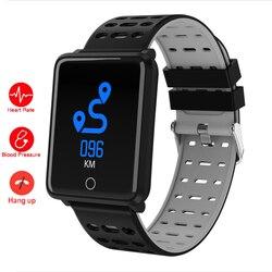 Smart Watch Men Blood Pressure Heart Rate Monitor Digital Smartwatch Waterproof Sport Men's Wristwatch Android IOS Clock Lemfo