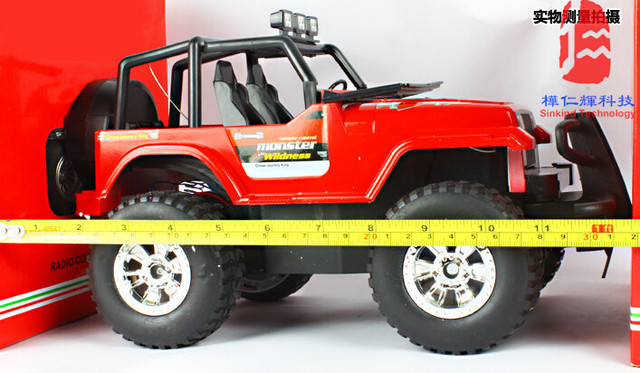 Super Large Remote Control Car Electric Steering Wheel Hummer Off Road Vehicles Boy Toy
