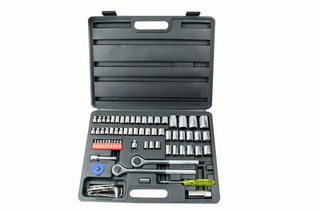 75 PCS l 1/4. 3/8. série manga conjunto de ferramentas de qualidade Industrial Especializada para conserto de automóvel e da motocicleta