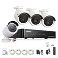 Annke 4ch 1080 p cctv poe sistema nvr 1080 p saída de vídeo 4 PCS 1500TVL 2.0 mp CCTV Câmera IP de Vigilância de Segurança Em Casa Kits