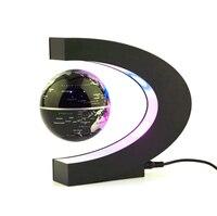 1 шт. украшения дома магнитной левитации Плавающий научить образование глобусы мира географические карты Декор Санта подарок США/ЕС Plug