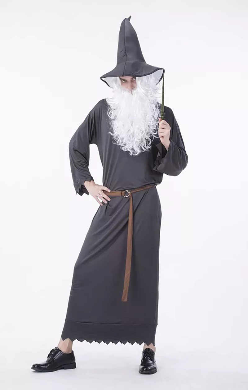 Dark Wizard Lord of the Ring Men Adult Costume