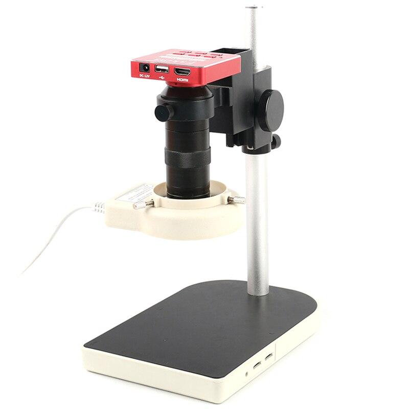 Zoom 2000x биологический HD микроскоп + 13 шт. аксессуары + электронный окуляр Монокуляр Студенческая Лаборатория образование LED USB - 2