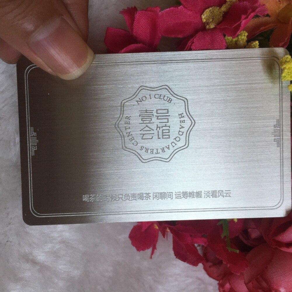 custom metal business cards Deluxe Metals