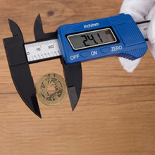 Digital Caliper 150mm ABS Digital Electronic Vernier Calipers LCD Rule Pachometer Gauge Micrometer Thickness Measuring Tool three point fixation thickness inside micrometer 20 25mm 0 005 micrometro measuring tool high precision plicometro