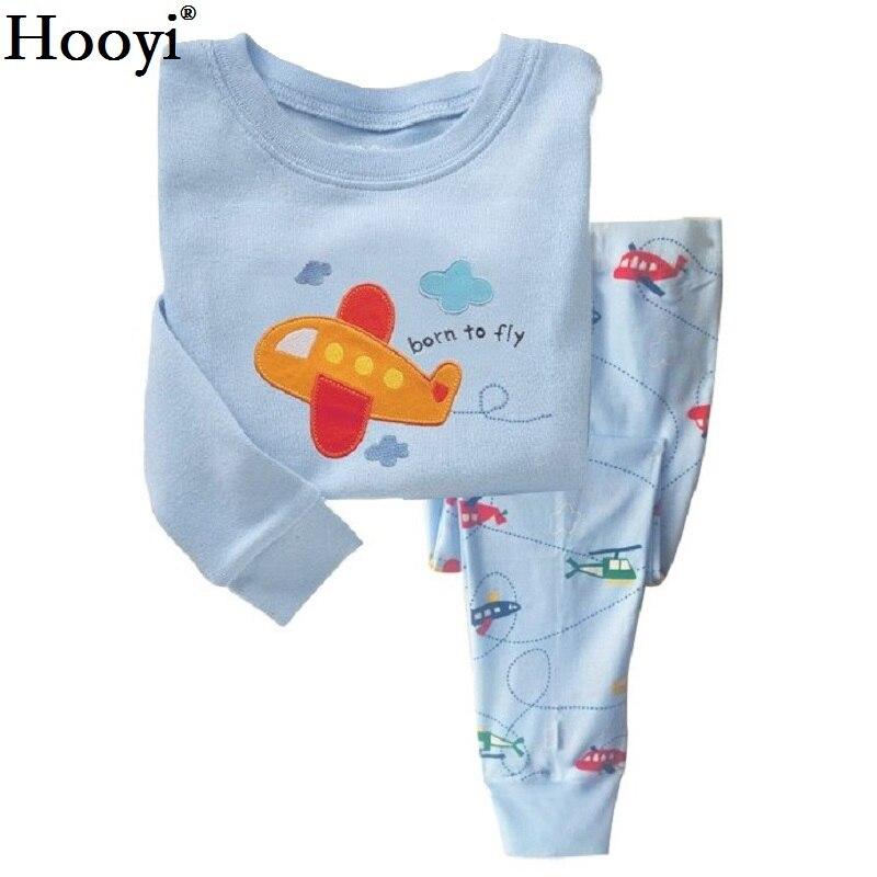 Robot Children Pajamas Suit Boys Pijama Sleepwear Baby Boy Clothing Bottom T-Shirts Kids Pyjamas Home Sport Suit Clothes 5