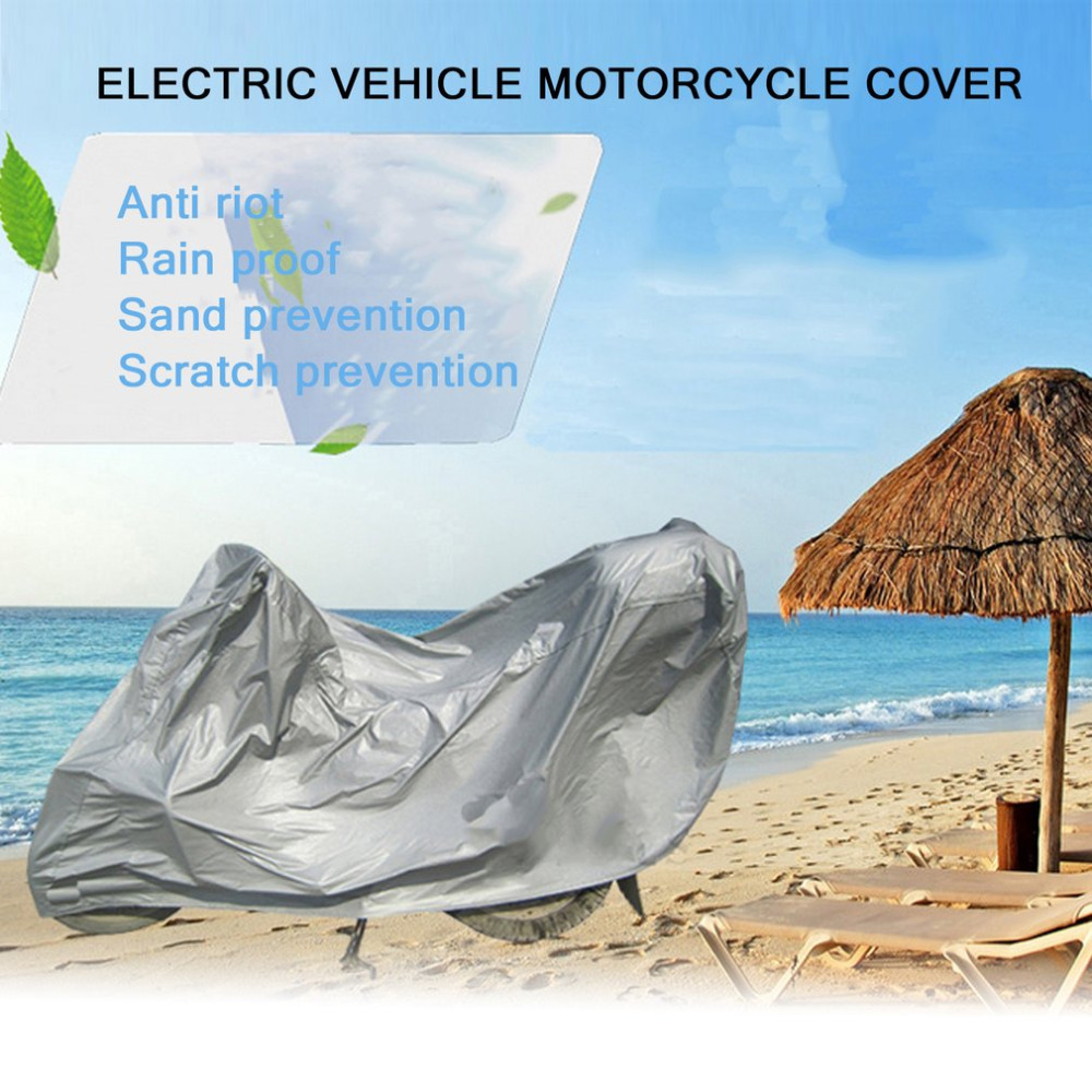 Neue Volle Schutz Motorrad Abdeckungen Anti UV Wetteratmungsaktiv Elektrische Fahrrad Haube Outdoor Indoor Zelt L größe Heißer Verkauf