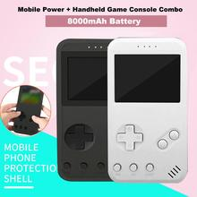 Two-in-one Charging Treasure Game Machine Portable Handheld Console 99 + 8000mAh Mobile Power