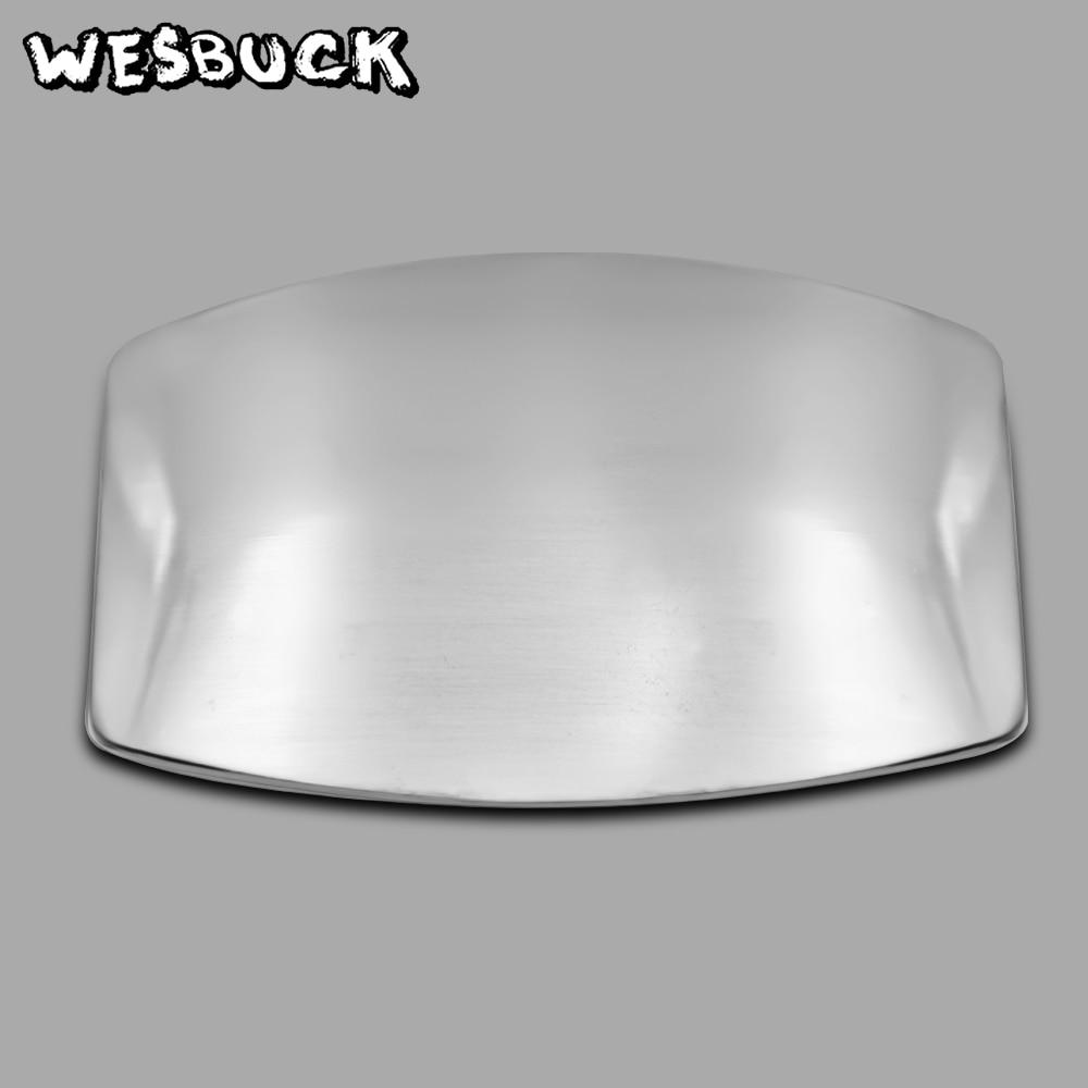 WesBuck Brand Blank Belt Buckles Silver Color Metal For 4cm Wide Belt Fashion Men Women Jeans Accessories