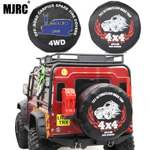 MJRC 1/10 analog climbing car for TRAXXAS TRX-4 SCX10 90046 RR10 RC4WD AXIAL 90-120MM tire racing 1.9 2.2 inch spare tire cover(China)