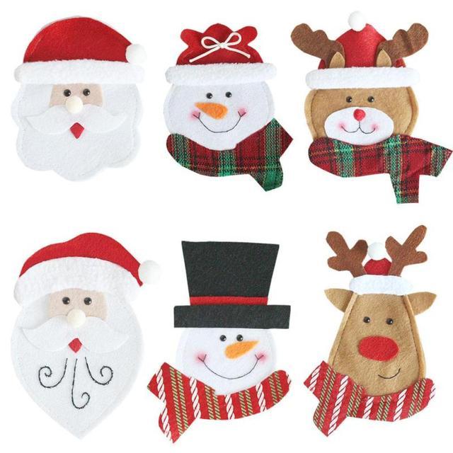 1 PZ Babbo natale Decorazioni Di Natale Forniture Festival di ...