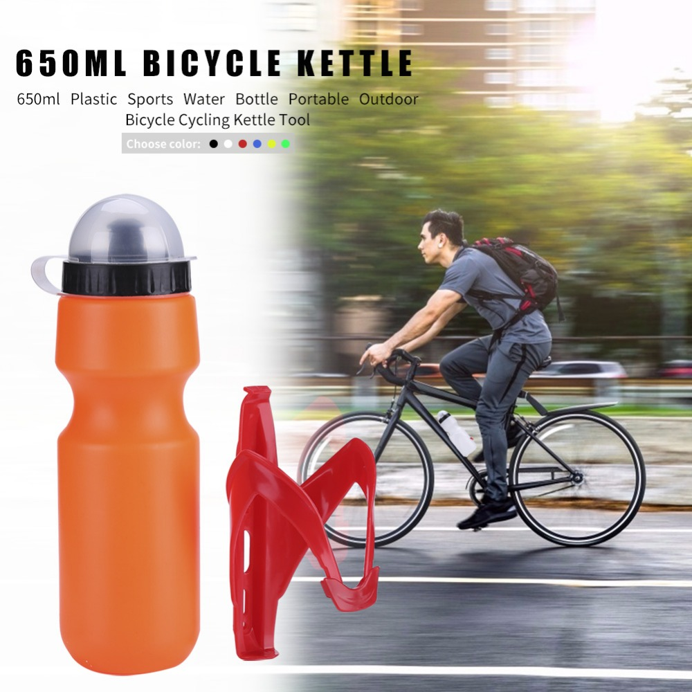 Portable Bike Bicycle Cycling Water Bottle Large Capacity Jug Kettle Outdoor