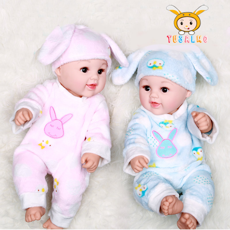 18inch cute face Rag Doll Baby gift child princess Blink hold safe doll simulation  soft glue doll Toy  reborn dolls babies18inch cute face Rag Doll Baby gift child princess Blink hold safe doll simulation  soft glue doll Toy  reborn dolls babies