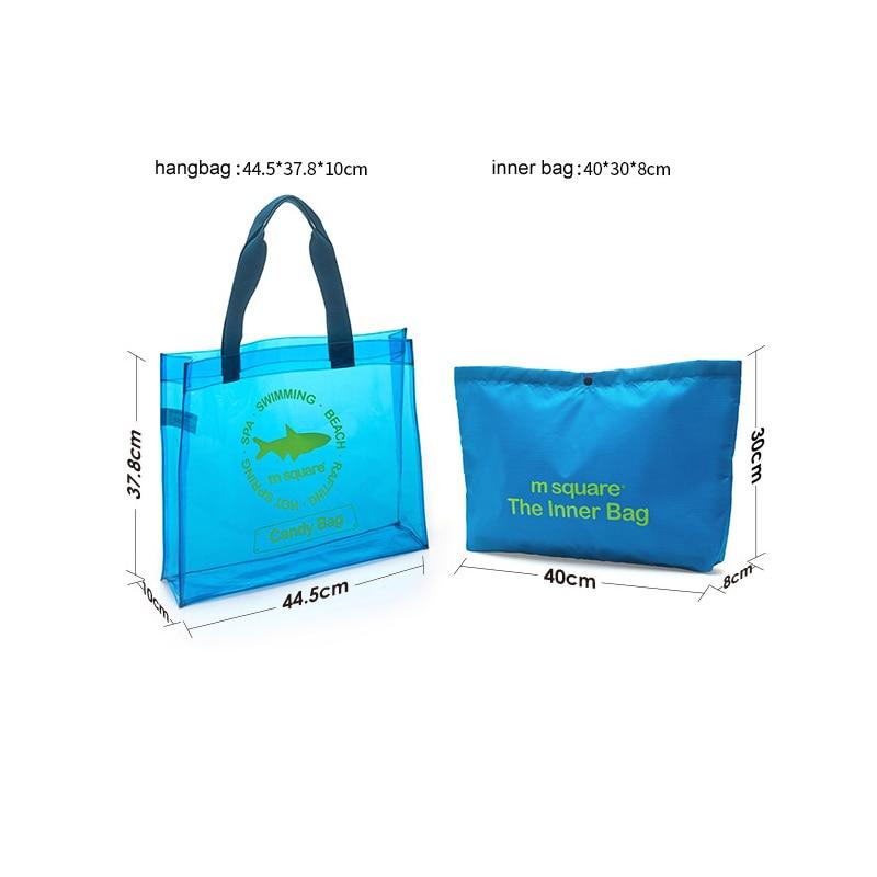 M Square Travel PVC ხელჩანთა ქალთა - ჩანთები - ფოტო 6