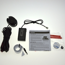 Zumbador sensor de aparcamiento electromagnético con interruptor sin necesidad de agujeros no perforados Sensor de Aparcamiento Electromagnético Auto