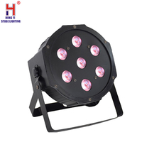 led par light 7x12w rgbw 4in1 mixed color di lightingn equipment