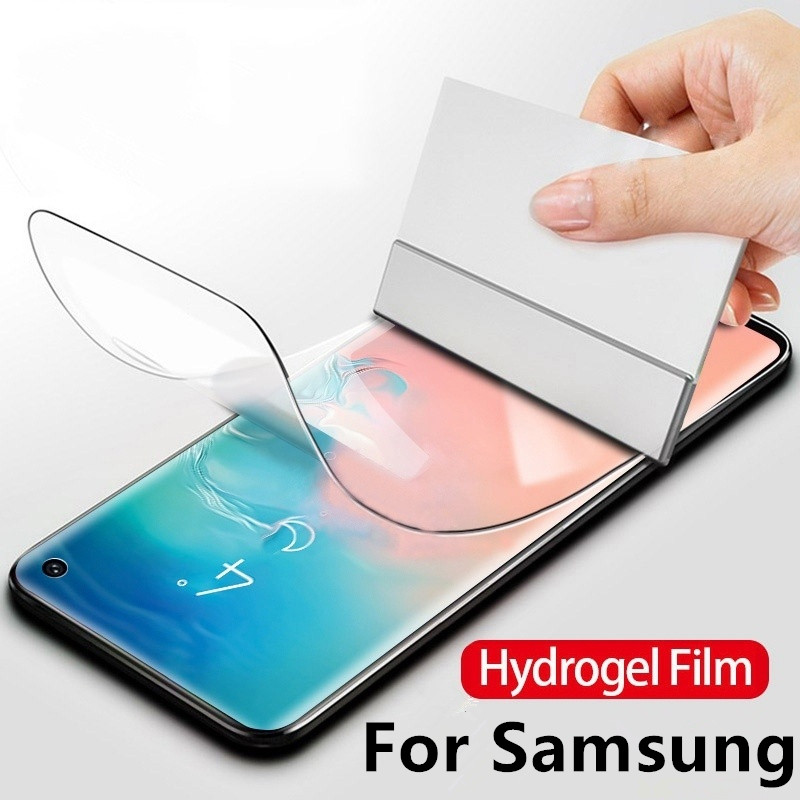 Hydrogel Film Screenprotector For Samsung Galaxy S10 S10e S8 S9 Plus Note 8 9 A70 A50 S7edge Screen Protective Protection Ecran