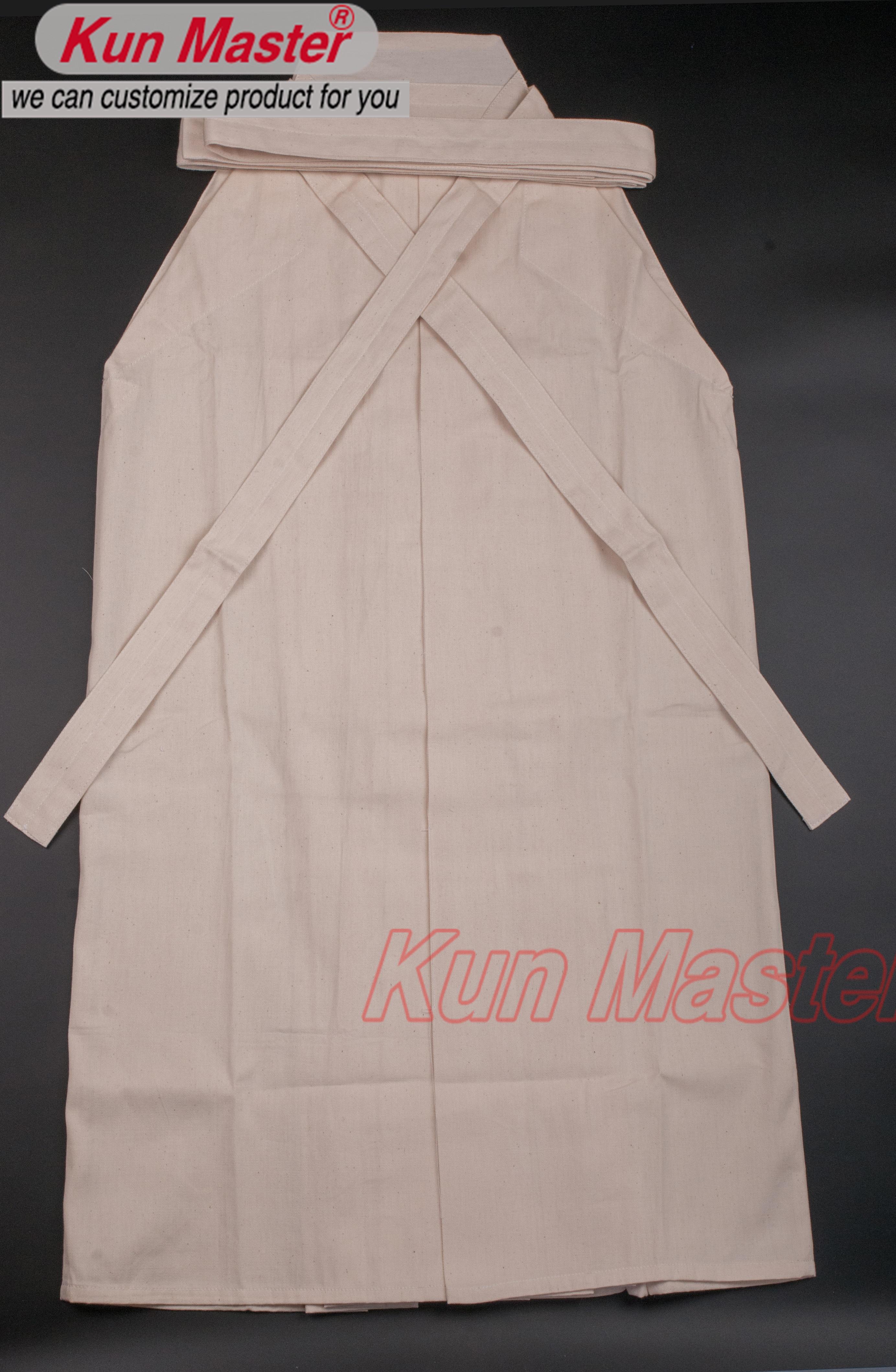 Baumwolle farbe Kendo Uniform, cotten Hakama, Japanischen Traditionellen Hakama (Top Hakama)