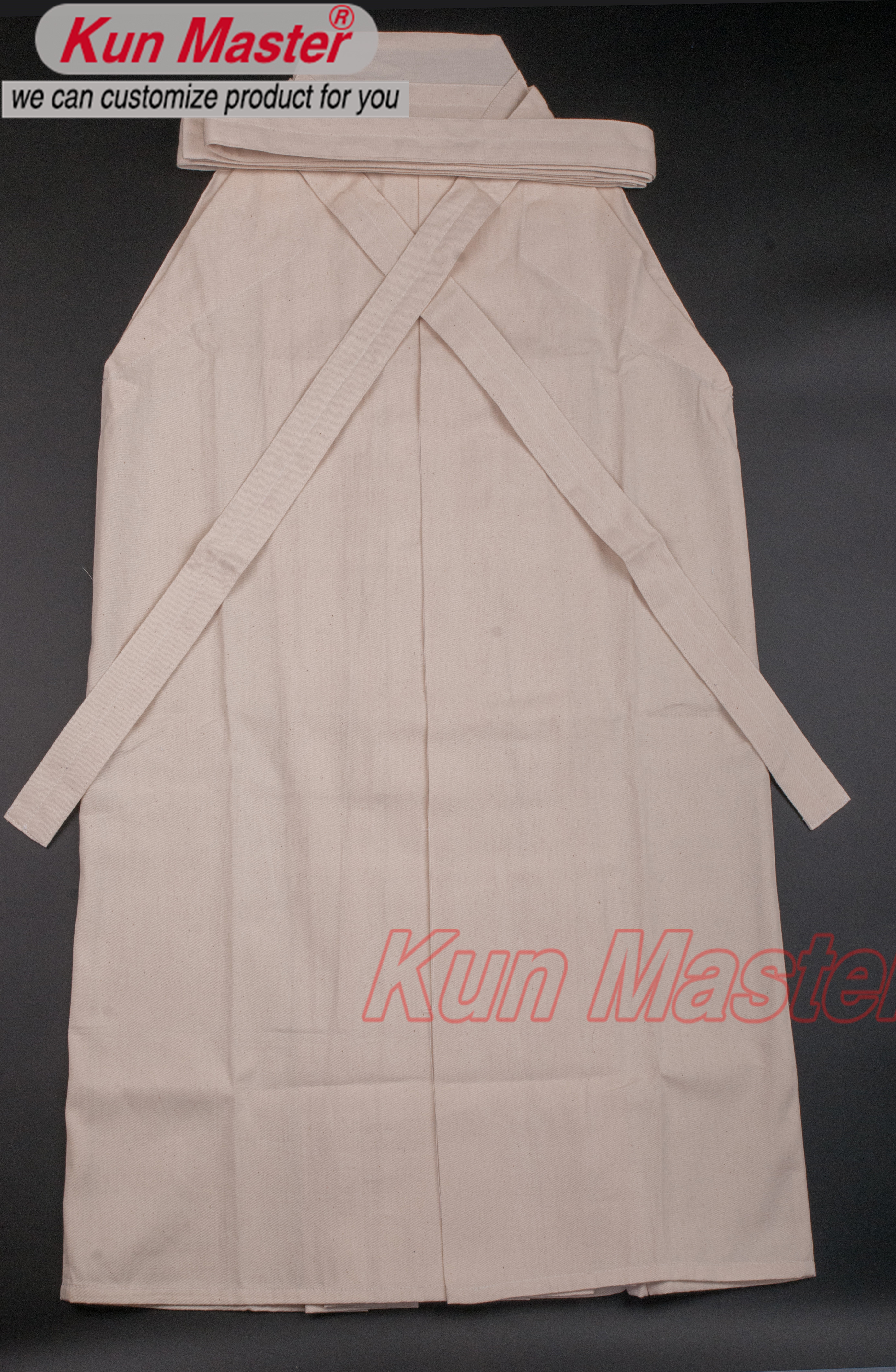 Cotton  color Kendo Uniform ,cotten Hakama,Japanese Traditional Hakama (Top Hakama)