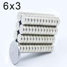 10/20/50/100/200/500Pcs 6x3 Neodymium Magnet N35 NdFeB Small Round Super Powerful Strong Permanent Magnetic imanes Disc