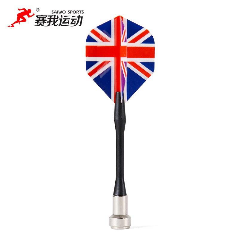 Enhanced magnetic dart needle magnetic dart needle Exquisite Bullseye Target Red Yellow Plastic Wing Magnetic Darts Needle